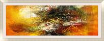 酒店抽象油画 床头抽象油画 客厅抽象油画