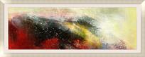 喷绘写真仿真油画 抽象画 现代装饰画
