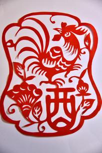 中国传统剪纸艺作品