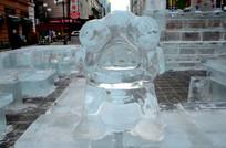 猪冰雕雕塑