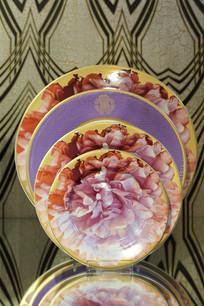 牡丹花餐盘系列