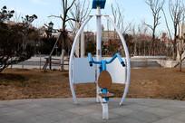 室外小区臂力健身器材图片