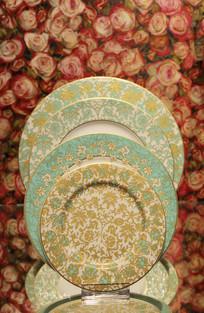 藤蔓图案餐盘