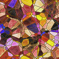 艺术玻璃图案