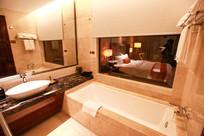 宾馆卫生间