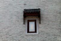 古建筑上的窗户高清图片