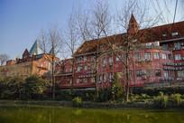 欧式建筑摄影