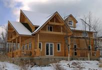 别墅建筑模板高清图片