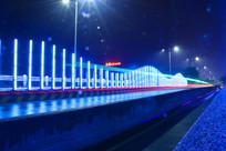 炫彩公路夜景