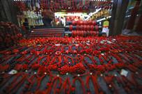 福州三坊七巷红色漆饰品