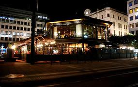 斯德哥尔摩街头酒吧