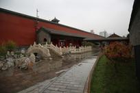沈阳故宫后花园