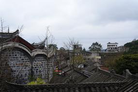 五凤溪古镇一角