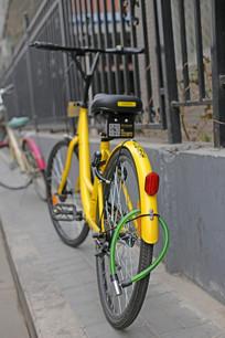 共享单车上锁
