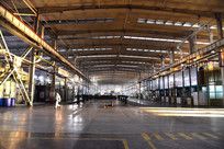 宽敞的车间厂房