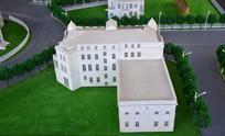 白色房屋模型
