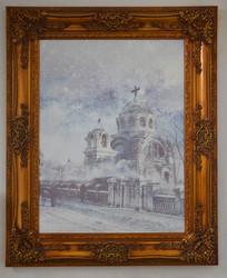 哈尔滨建筑彩铅画