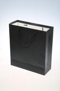 黑色纸盒子手提袋
