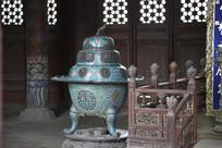 沈阳故宫崇政殿香炉
