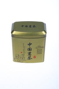一个铁质的茶叶罐