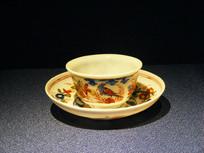 1740年德国珐琅彩绘杯