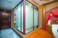 玻璃卫生间