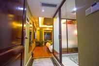 豪华客房卫生间