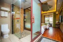 豪华卫生间浴室客房