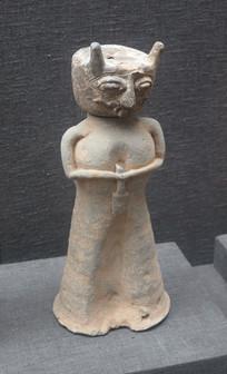 三国时代文物人俑
