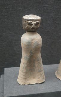 三国文物人俑