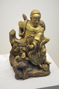 武神金漆木雕