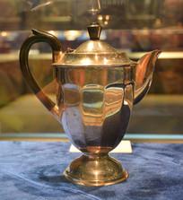 奥地利银器茶壶
