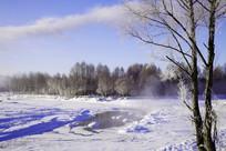 冰河冰雪风光