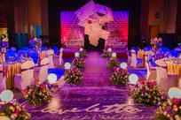 多彩婚礼舞台灯光设计