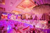 粉红色主题婚礼