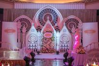 粉色公主城堡主题婚礼