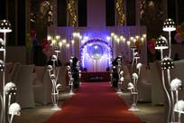 菇灯婚礼布置