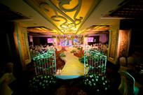 花卉婚庆舞台灯光设计