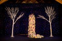 花树星星舞台布置