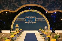 婚庆舞台布置