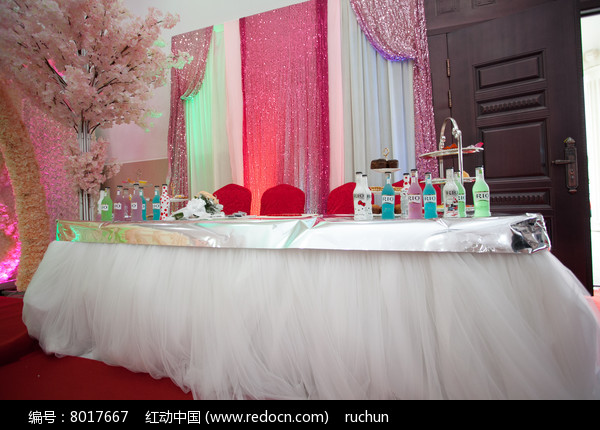 婚庆迎宾区布置图片
