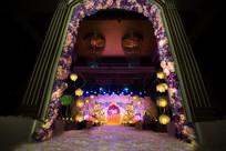 结婚舞台布置