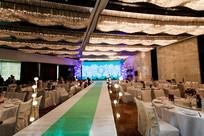 结婚宴席舞台