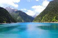 九寨沟的美丽山水