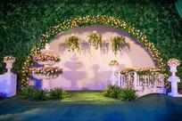 森系婚礼场景
