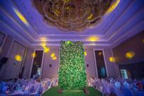 森系婚礼舞台灯光设计