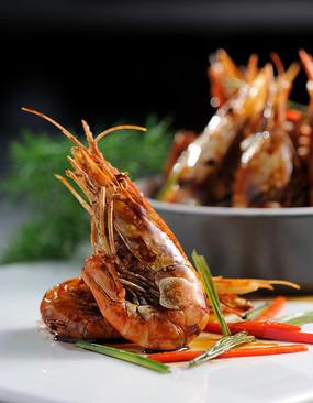 香茅基围虾