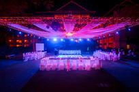 新婚灯光舞台布置