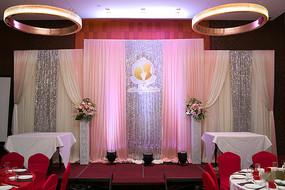 新婚舞台布置