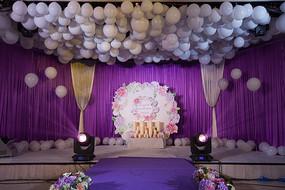 新婚舞台气球